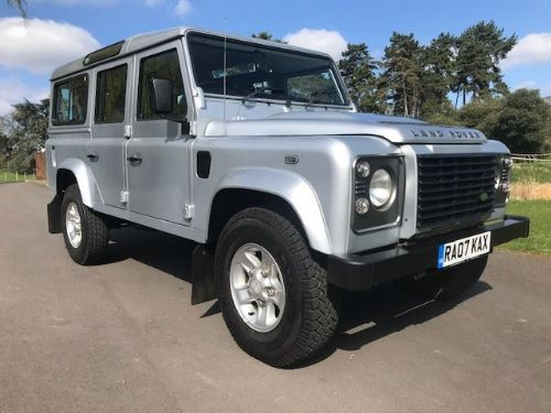 *** SOLD *** Land Rover Defender 110 XS Station Wagon 2.4 TDCi 2007